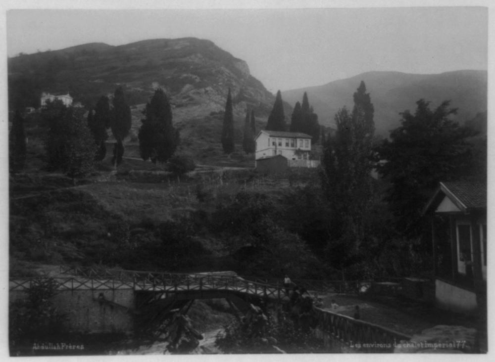 [The imperial pavilion in Bursa] / Abdullah Frères