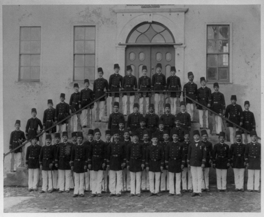 [The navy classes of the Imperial Naval Academy] / Constantinople, Abdullah Frères