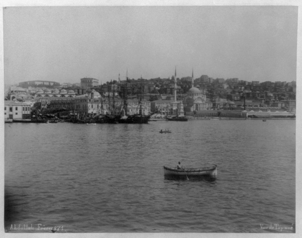 [View of Tophane from the sea] / Abdullah Frères