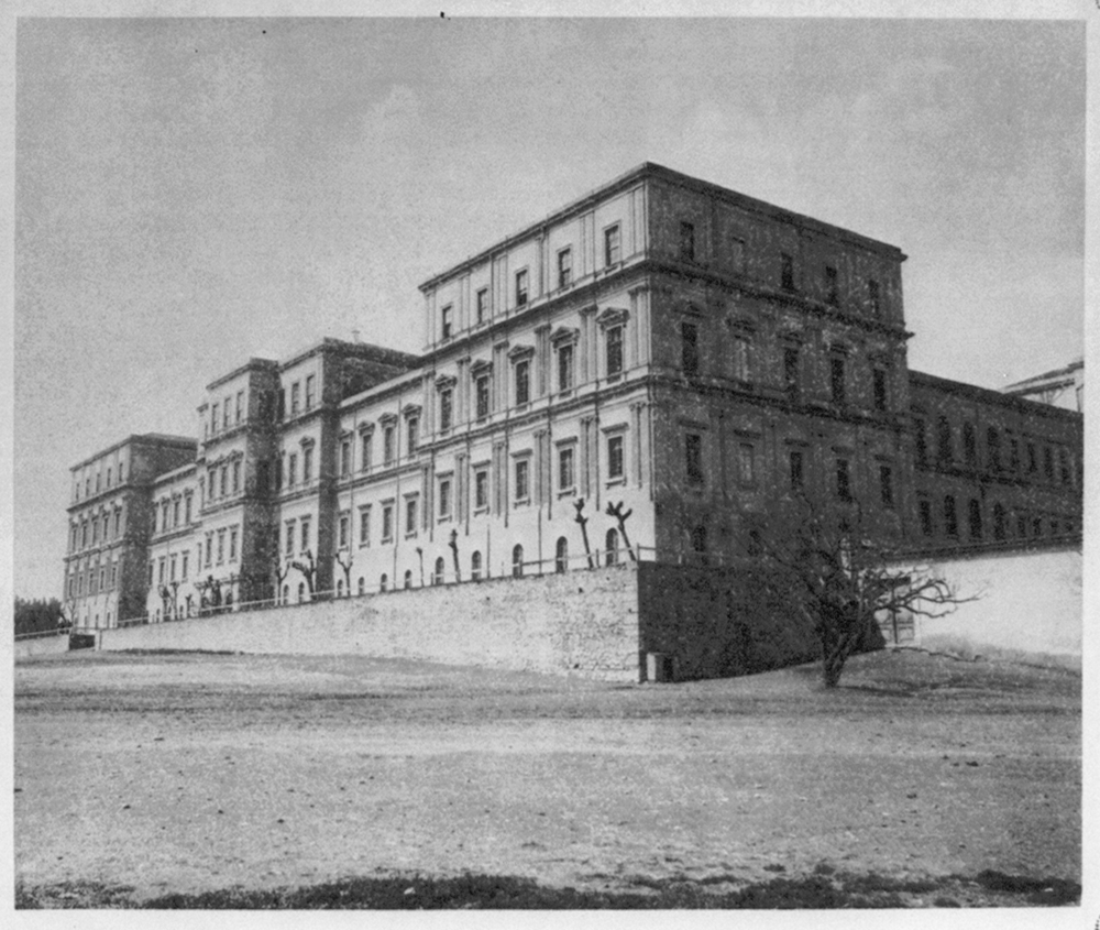 [View of the Mecidiye Barracks] / Abdullah Frères, Phot., Constantinople