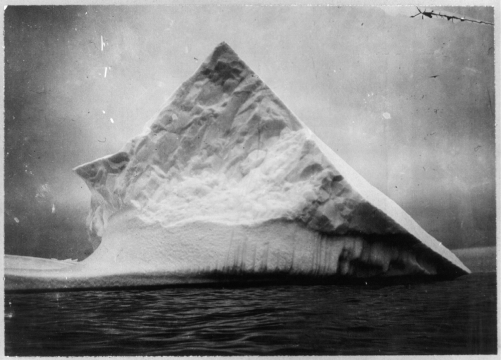 An iceberg near head of Trinity Bay, Newfoundland