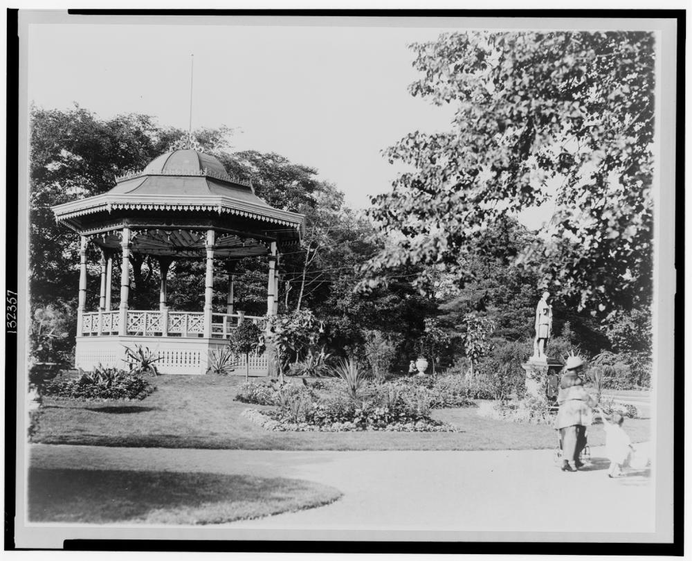 Canada, Nova Scotia, Halifax--Public gardens