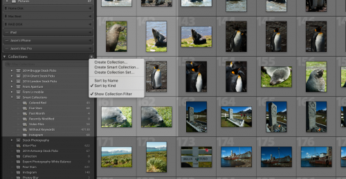 lightroom collections explained