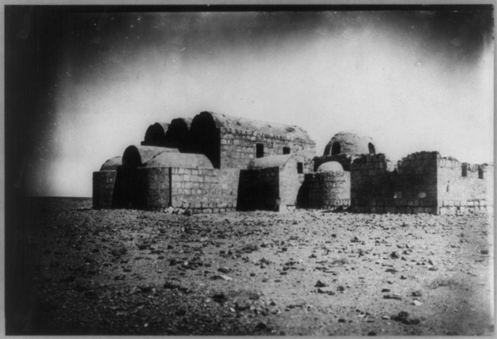 Desert fortress of Keisejr Amra - Northern Arabia