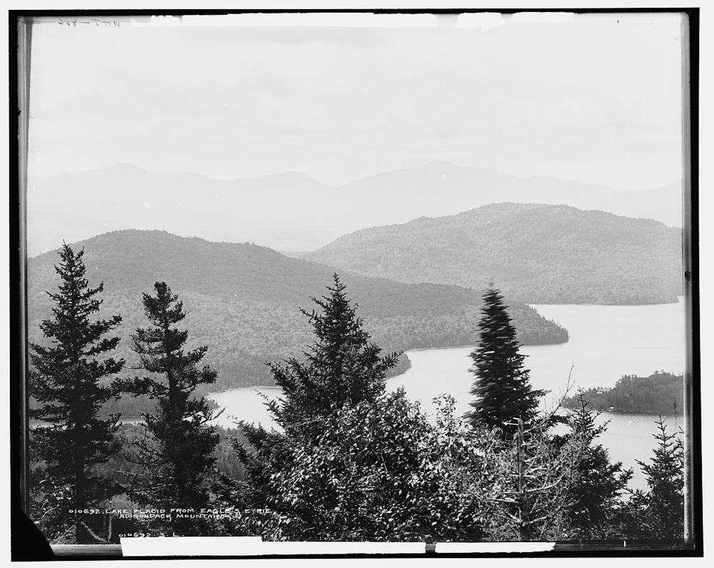 Lake Placid from Eagle's Eyrie, Adirondack Mountains