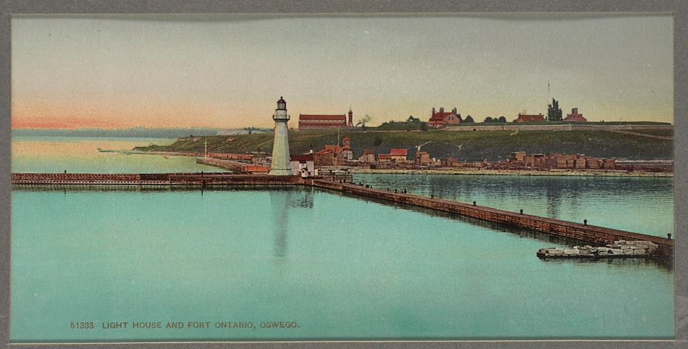 Light house and Fort Ontario, Oswego