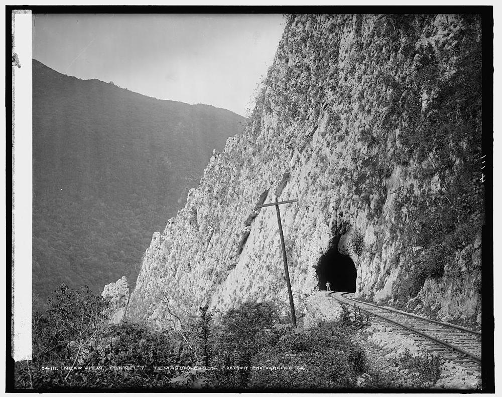 Near view, Tunnel 7, Temasopa [sic] Canon