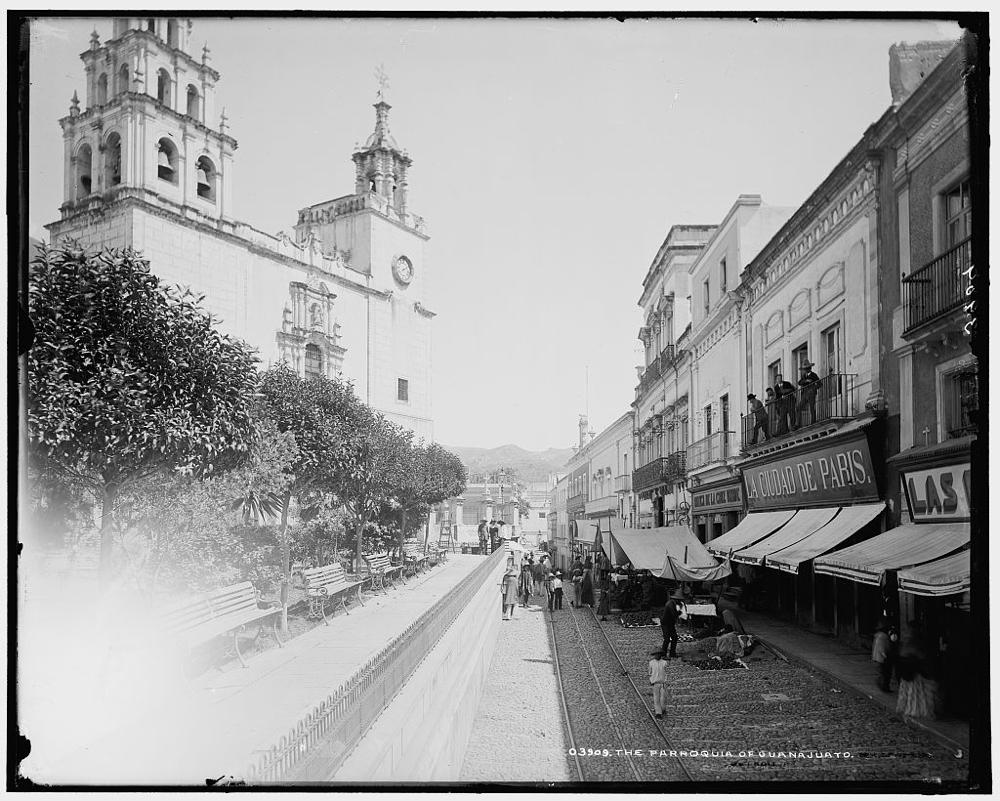 Parroquia of Guanajuato