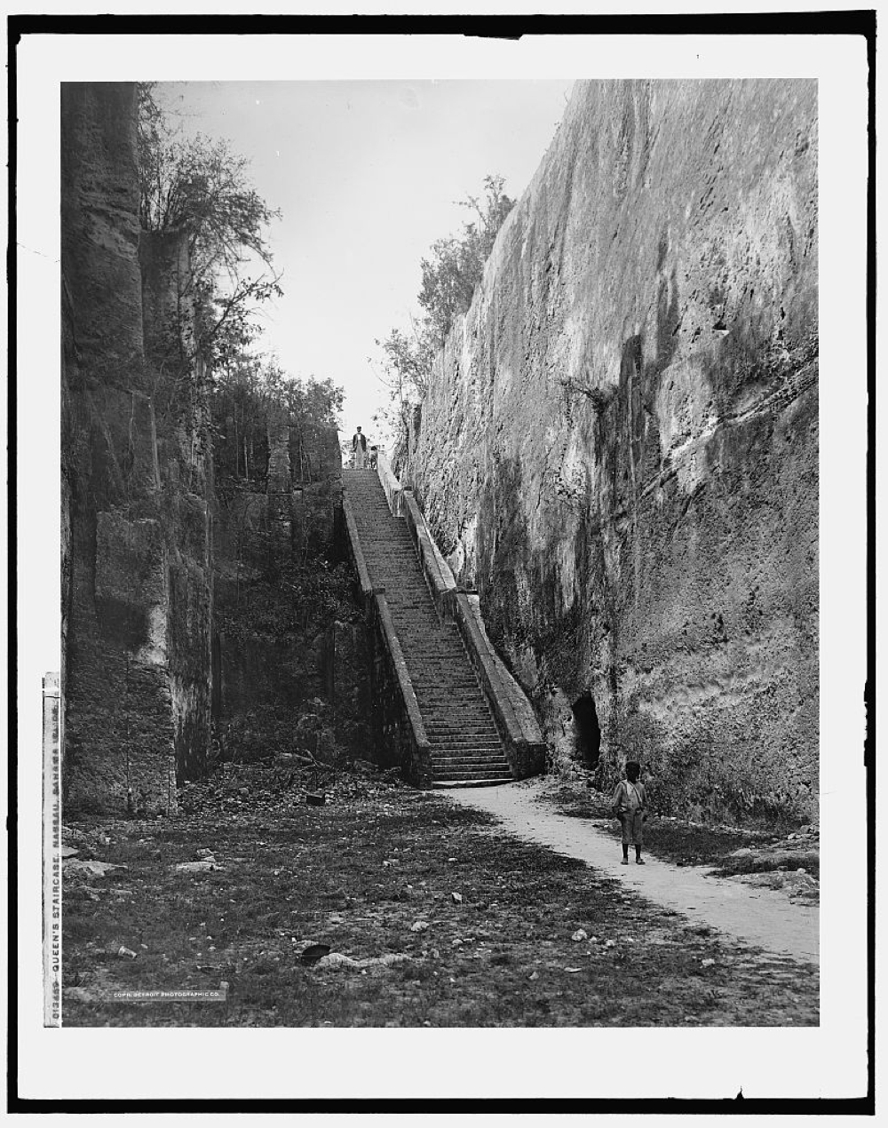 Queen's staircase, Nassau, Bahama Islds