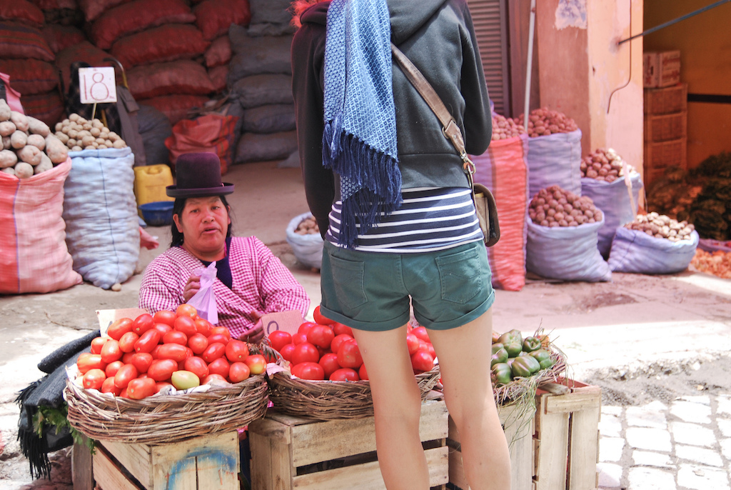 photographing street markets