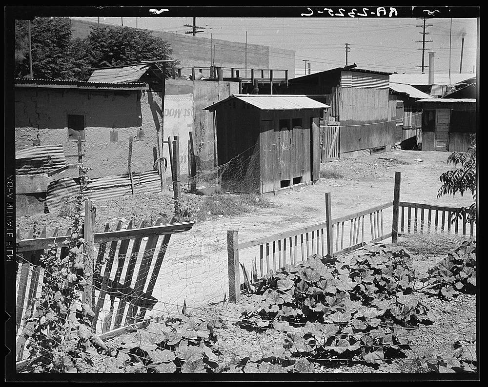 A street in Brawley, Imperial Valley