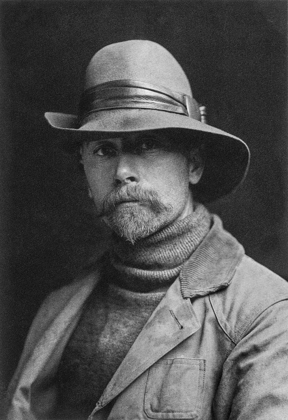 Self-Portrait of Edward S. Curtis 1868-1952