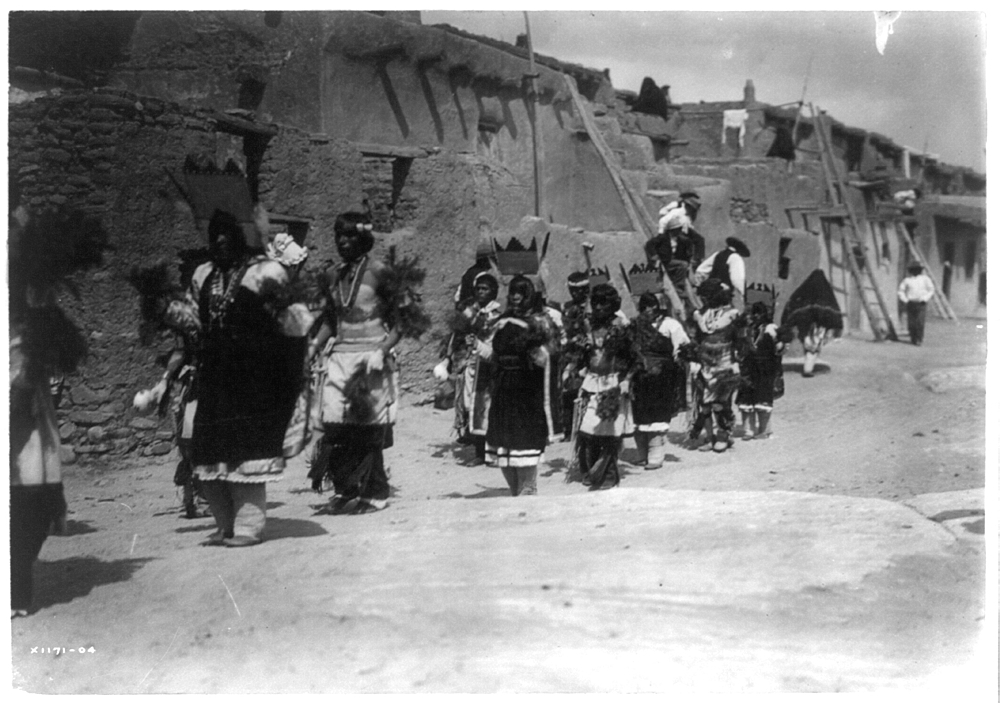 Fiesta of San Estevan (A)--Acoma