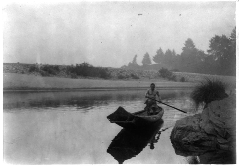 Hupa fisherman