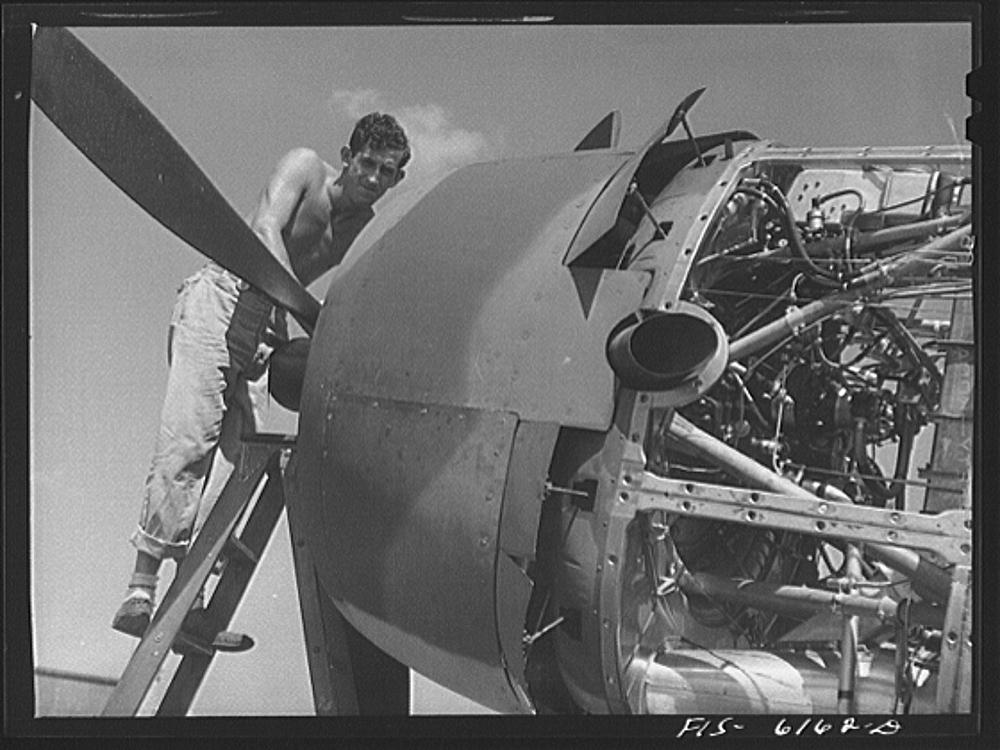 Nashville, Tennessee. Vengeance bomber on the field1