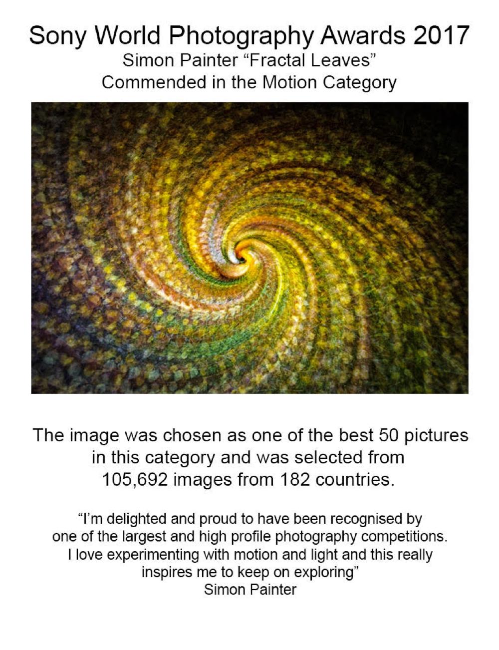 Sony world photography award