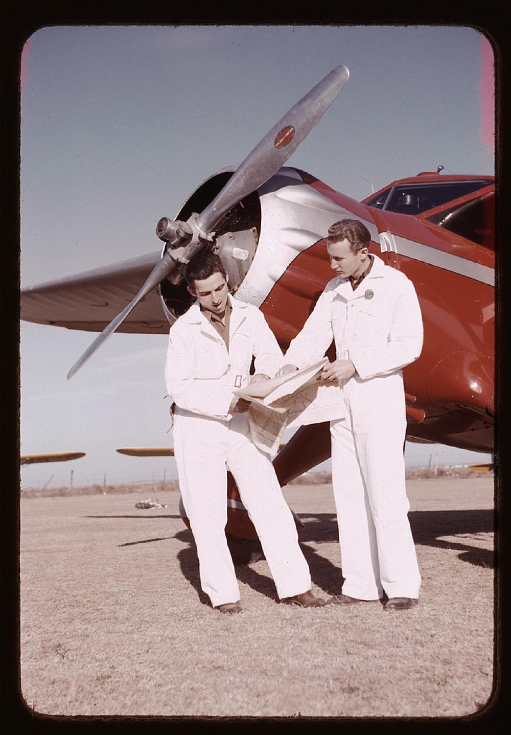 Student pilots, Meacham Field