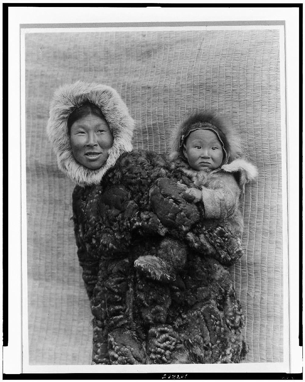Woman and child, Nunivak