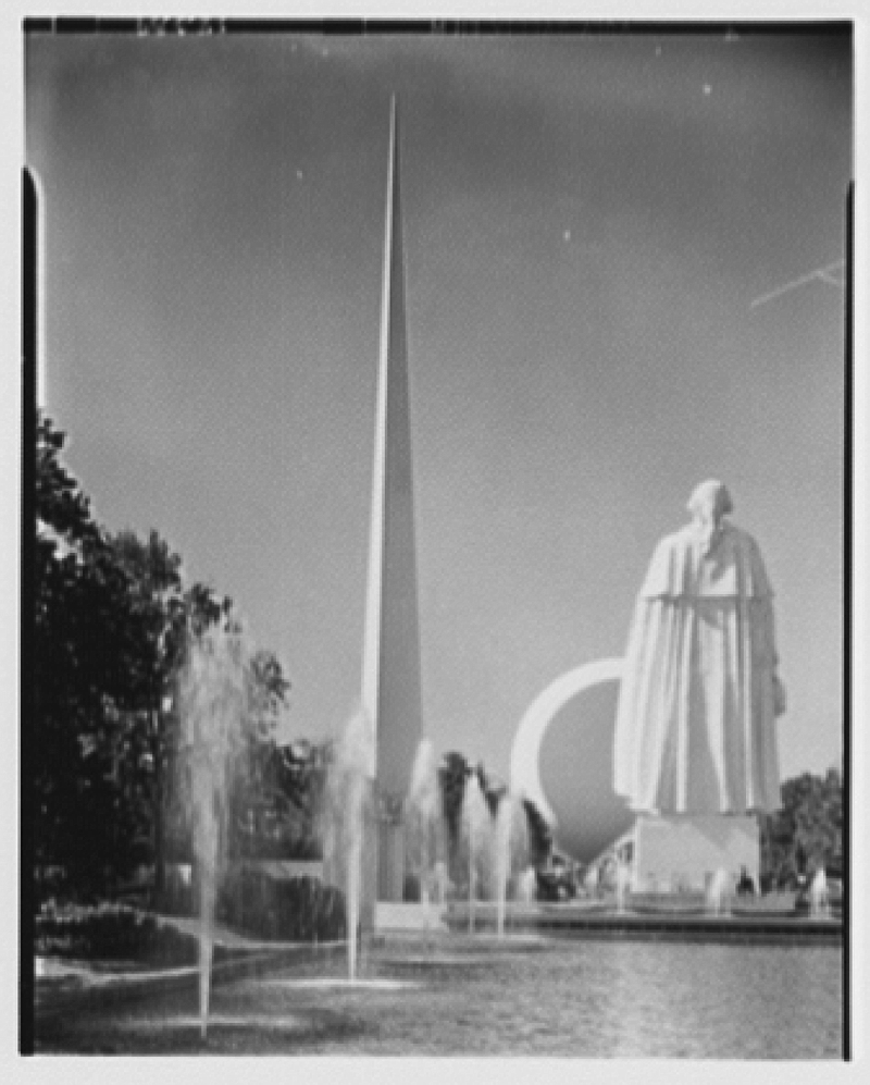 World's Fair views. George Washington