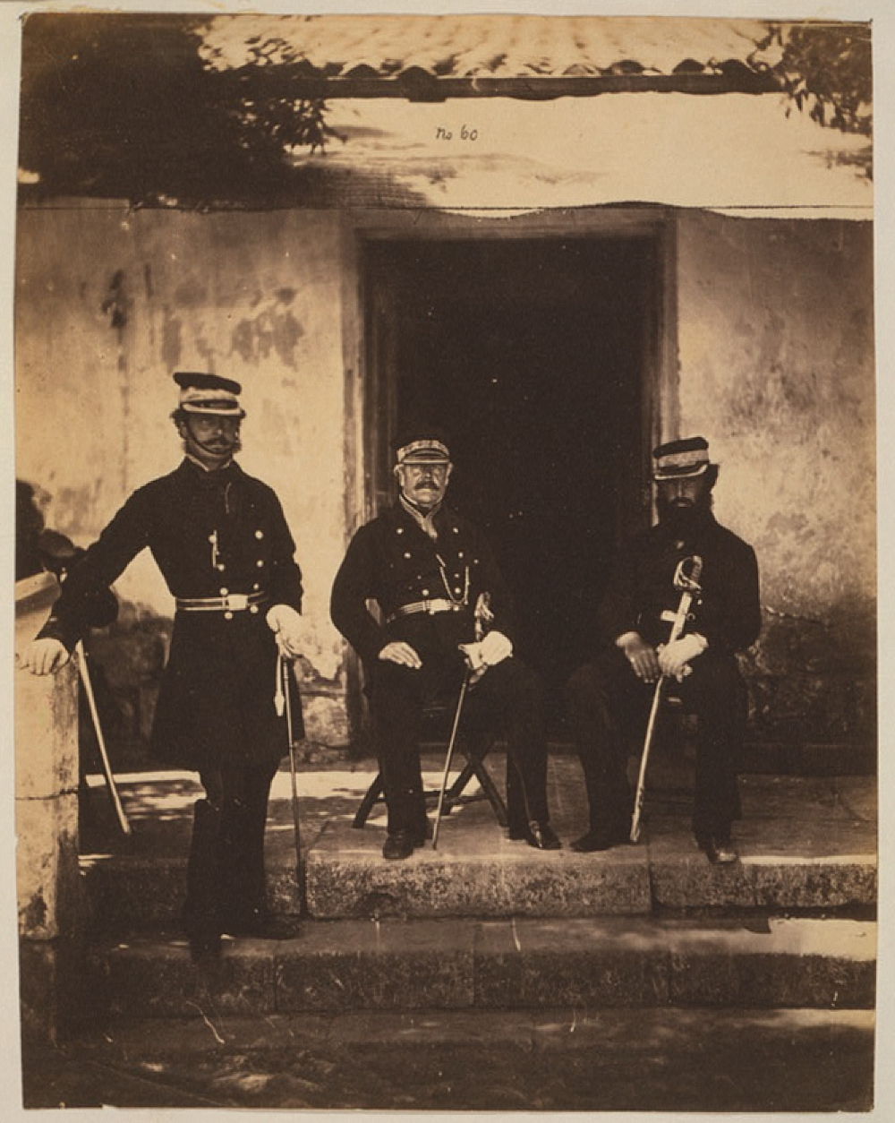 Brigadier General Lockyer & two of his staff