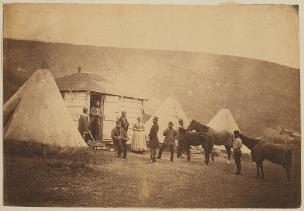 Captain Webb's hut, 4th Dragoon Guards