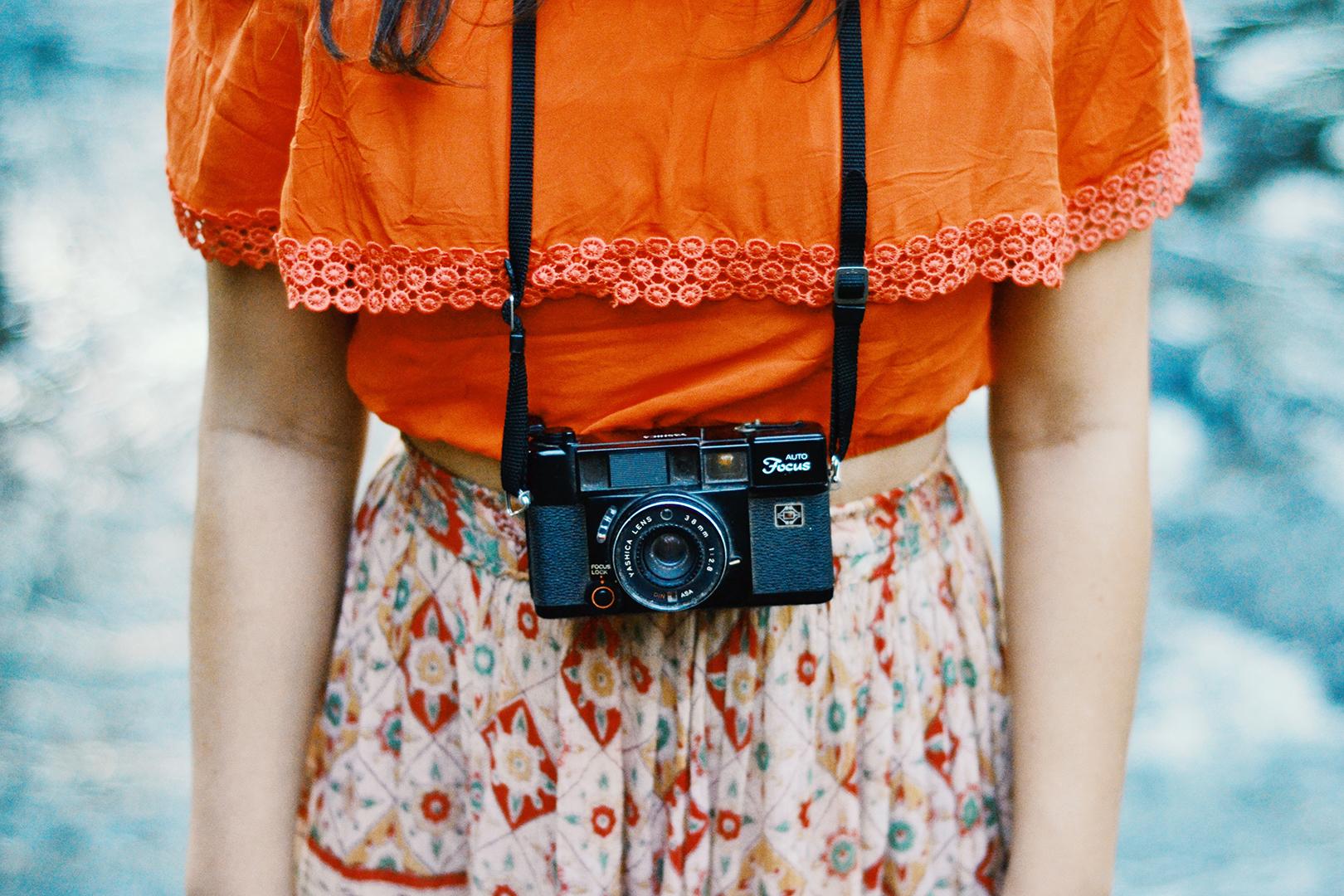 using analog cameras