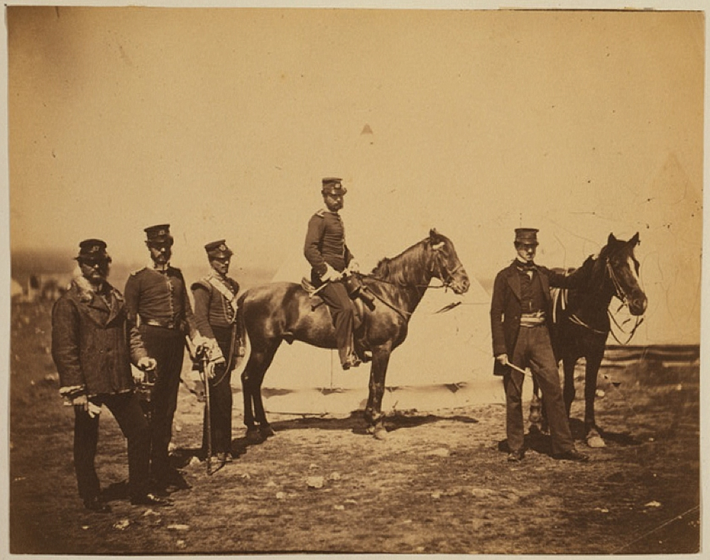 Reverend Mr. Butler & officers of the 47th Regiment