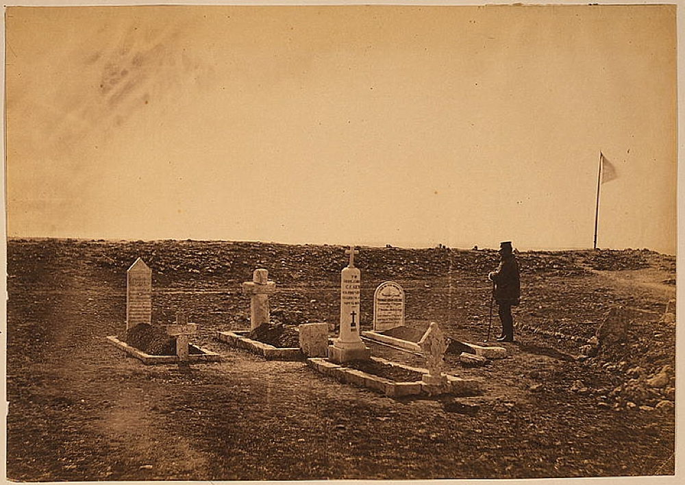 The tombs of the generals on Cathcart's Hill