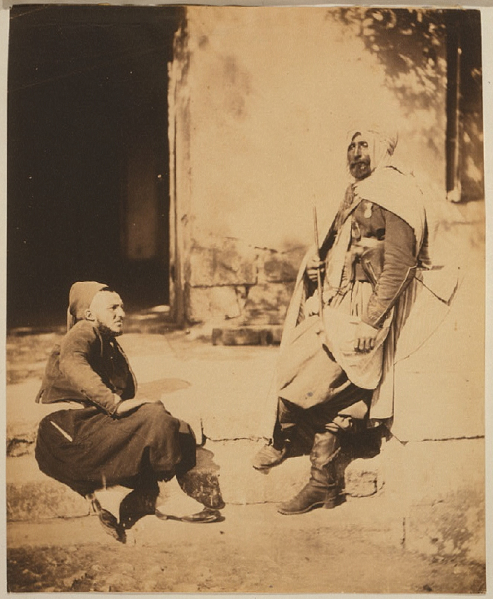Zouave & officer of the Saphis