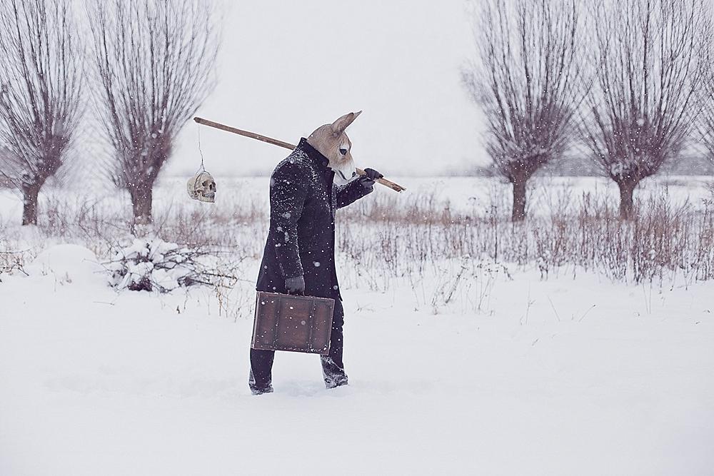 The Wanderer and His Shadow ©2017, Katarzyna & Marcin Owczarek