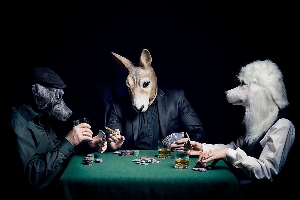 The Poker Game ©2017, Katarzyna & Marcin Owczarek