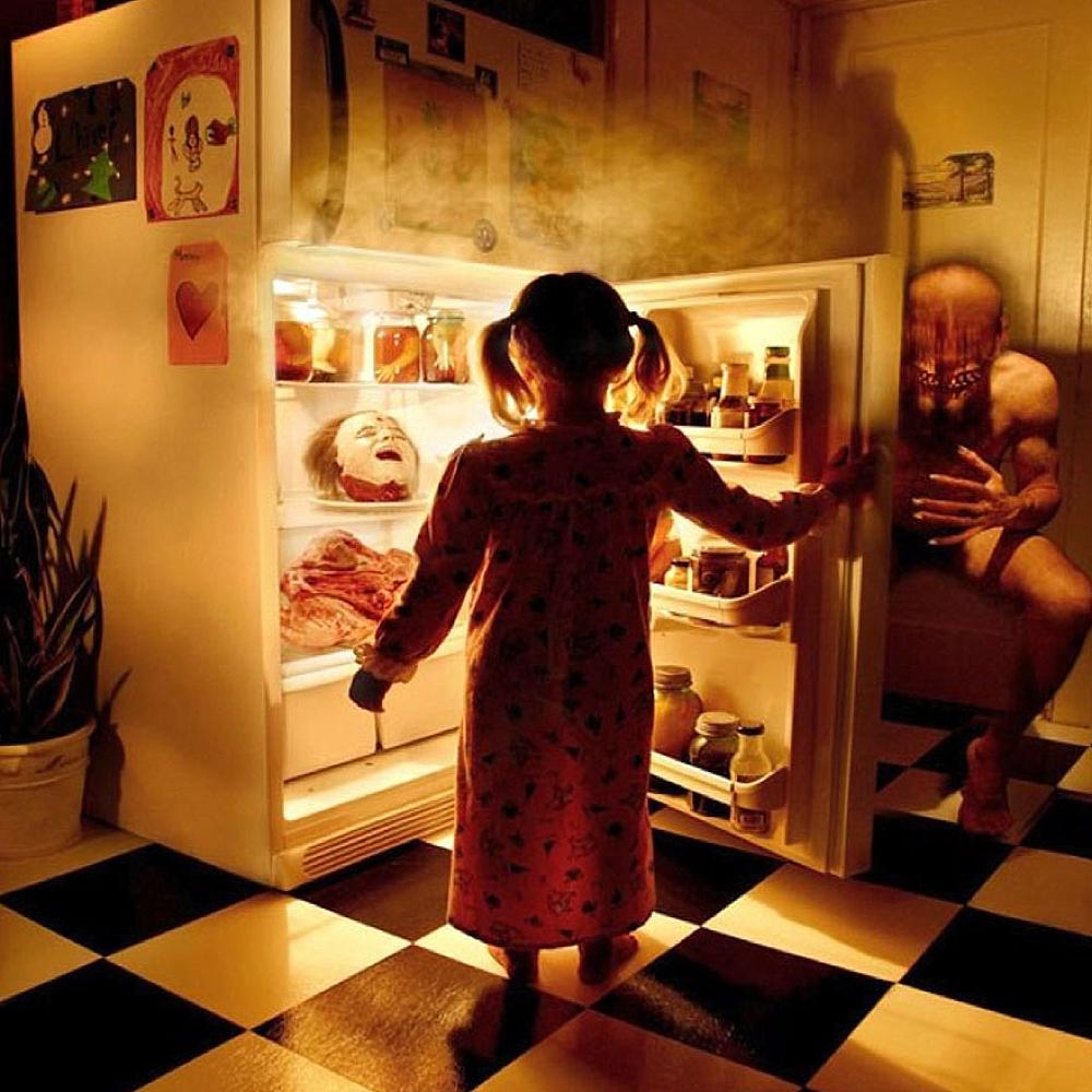 Refrigerator - Image by Joshua Hoffine