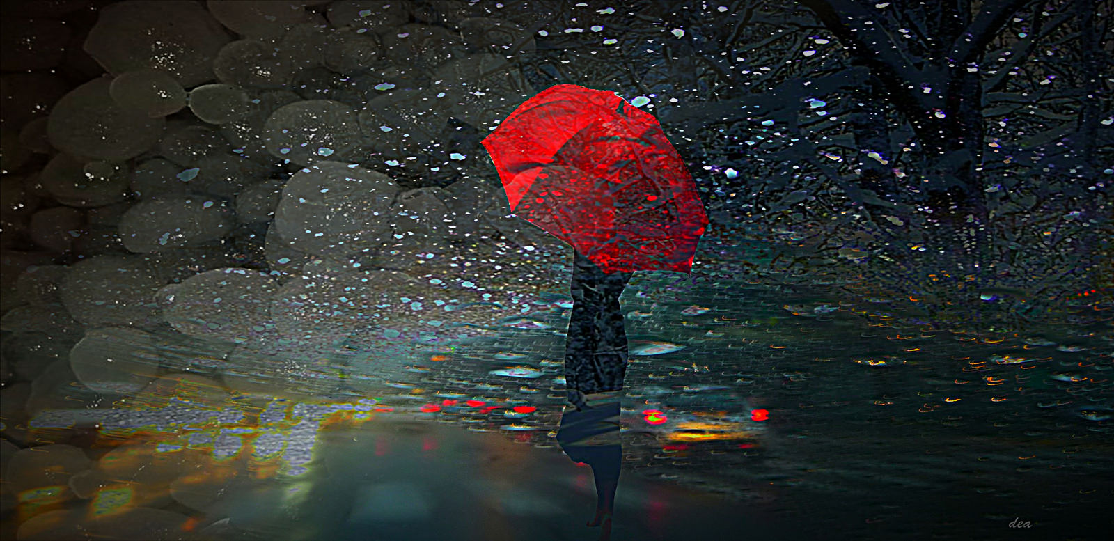 14 Creative and Inspiring Photographs That Were Taken in the Rain