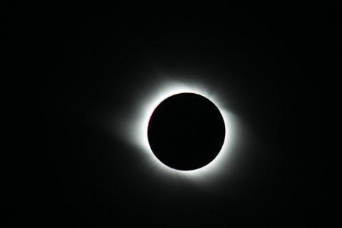 Inner Corona, Total Solar Eclipse 2008 taken in China, by the Gobi Desert