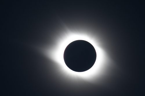 Outer Corona, Total Solar Eclipse 2008 taken in China, by the Gobi Desert