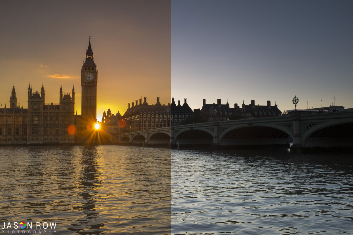 The difference after a little editing in Lightroom is astounding.