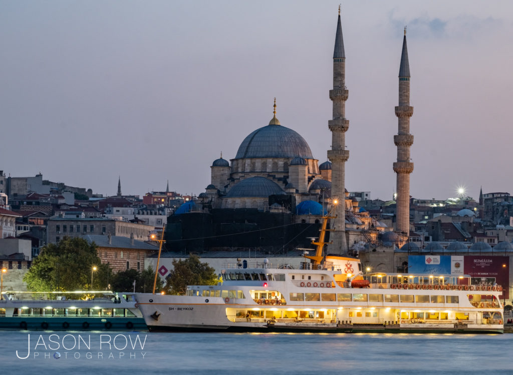 Old Istanbul at twilight
