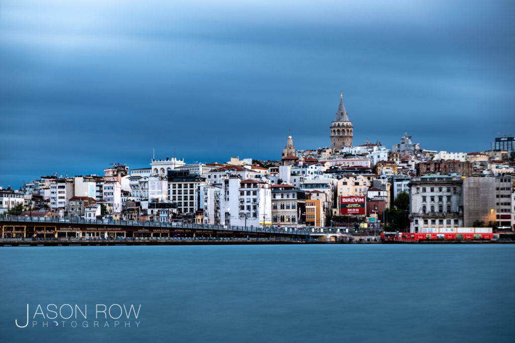 The Golden Horn and Galata Tower Istanbul
