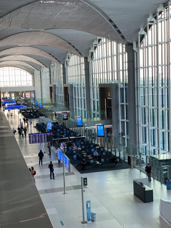 Istanbul new airport interior