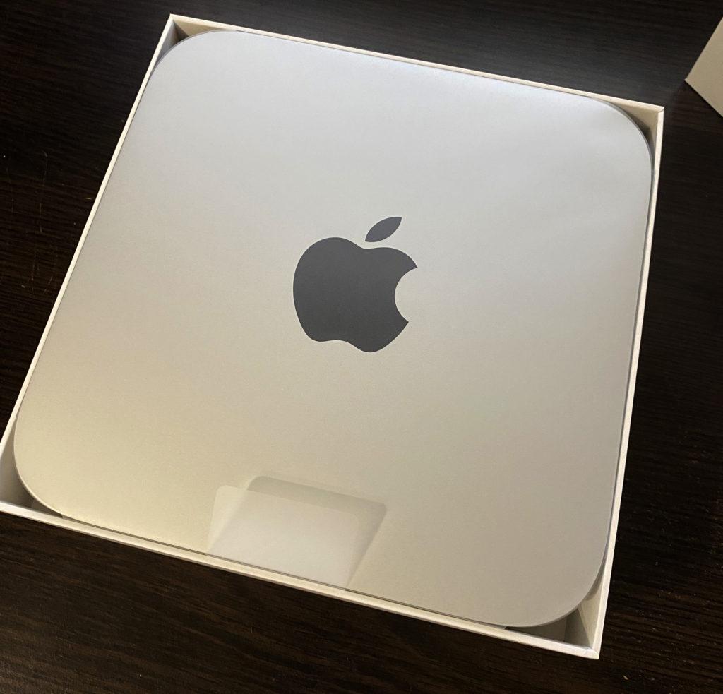 M1 Mac Mini in box