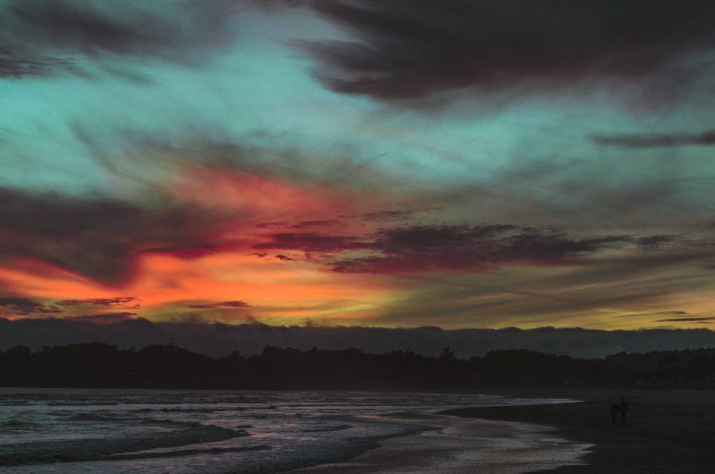 landscape color grading