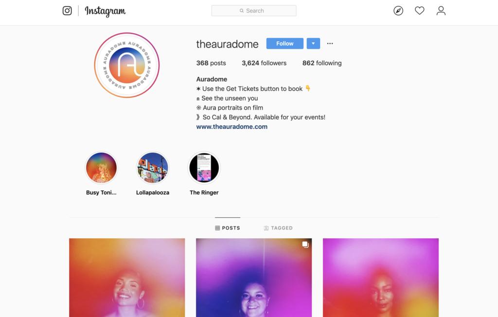 aura photography instagram