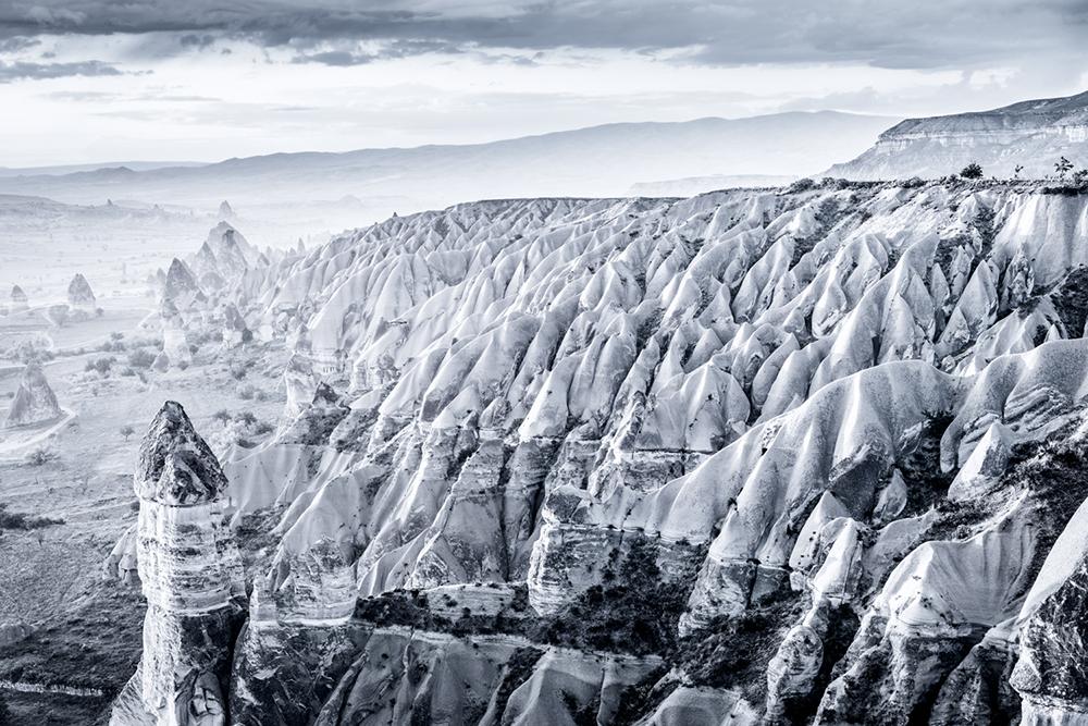 Waving Rocks, Cappadocia, Turkey