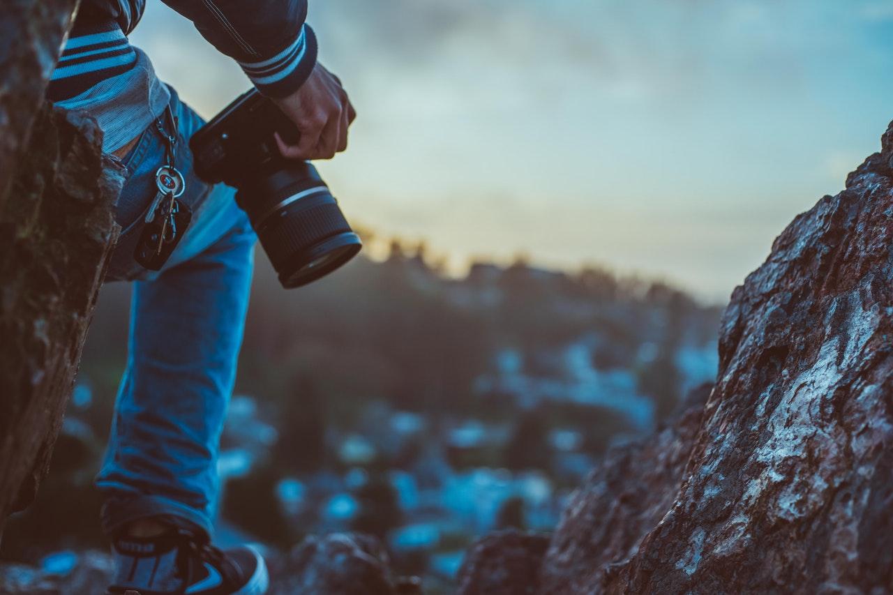 adult blur camera dlsr