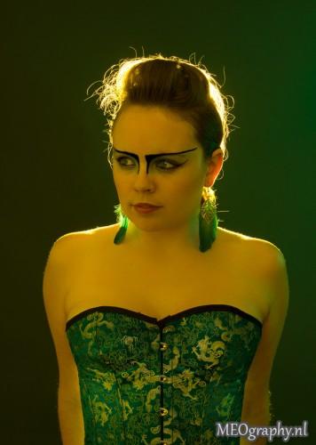 green light portrait