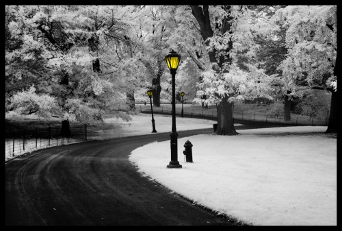 Infrared: different post-processing ideas