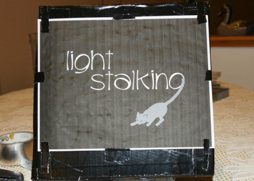 Home Photography Project: How to Make a Light Stencil
