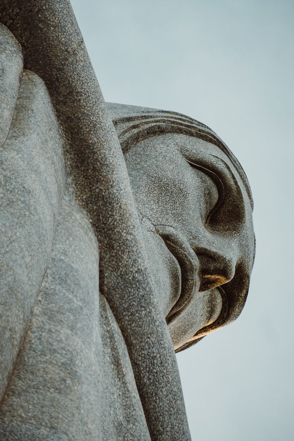 look for interesting perspectives or photograph only part of the statue