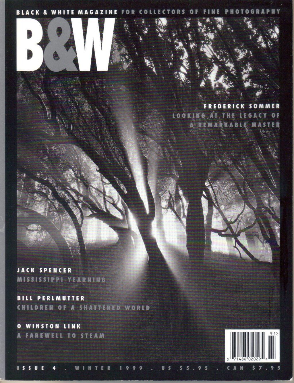 black and white print magazine