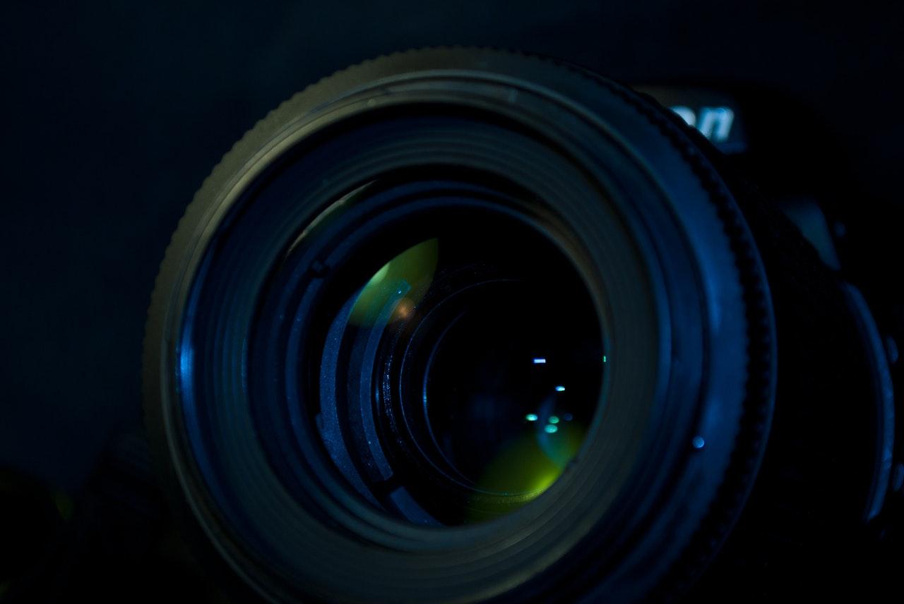 blur camera lens close up focus